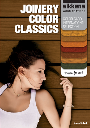Joinery Color Classics-Colour Card