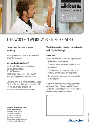 Label for Fresh coated Windows A4_2014