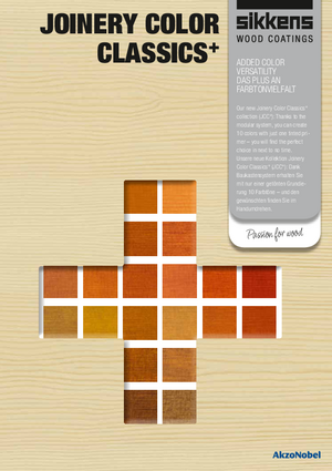 Joinery Color Classics Plus