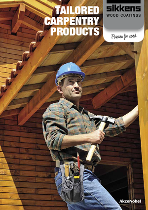 Tailored carpentry products